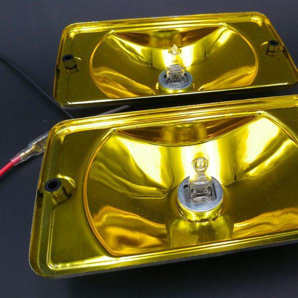 Fonds chrome métal Cuvelages Longue Portée jaune siem peugeot 205 gti