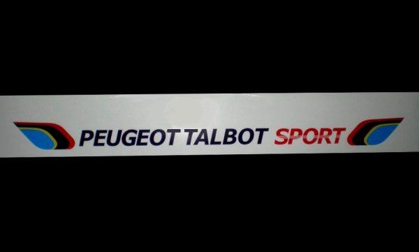 AUTOCOLLANT STICKER PARE BRISE PARE SOLEIL PTS PEUGEOT 309 205 GTI CTI RALLYE