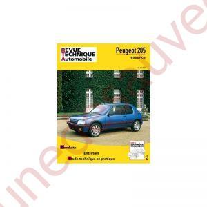 REVUE TECHNIQUE AUTOMOBILE RTA PEUGEOT 205 GTI 1.6 1.9 105 - 115 - 130 - 122 CV