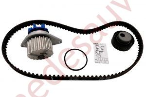 KIT DISTRIBUTION + POMPE A EAU PEUGEOT 205 1.3 RALLYE