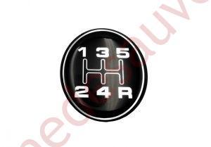 PASTILLE BE3 LISSE GRISE POUR POMMEAU LEVIER VITESSE PEUGEOT 205 GENTRY 505 TURBO