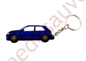 PORTE-CLÉ RENAULT CLIO WILLIAMS 2.0 BLEU SPORT
