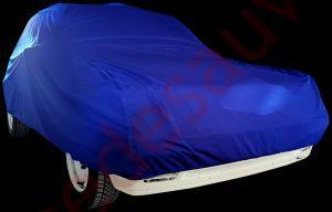 HOUSSE PROTECTION BLEU TISSU JERSEY INTÉRIEUR PEUGEOT 205 GTI - CTI - RALLYE