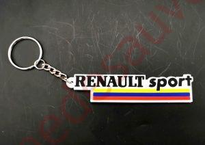 PORTE-CLÉ RENAULT SPORT - RS -