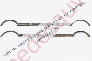 KIT-DE-6-EXTENSIONS-D-AILES-ET-PORTES-PROTECTEURS-GRIS-POUR-PEUGEOT-205-GTI-CTI