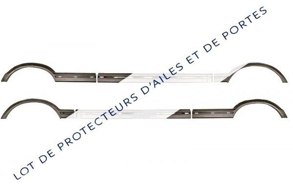 KIT-DE-6-EXTENSIONS-D-AILES-ET-PORTES-PROTECTEURS-NOIR-POUR-PEUGEOT-205-GTI-CTI