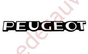LOGO-PEUGEOT-POUR-PEUGEOT-205-GTI-MONOGRAMME-GRIS-ET-NOIR