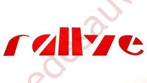 """AUTOCOLLANT STICKER - LOGOS """" RALLYE """" POUR LES CUSTODES D'AILES ARRIERES DE PEUGEOT 205 RALLYE 1.3"""
